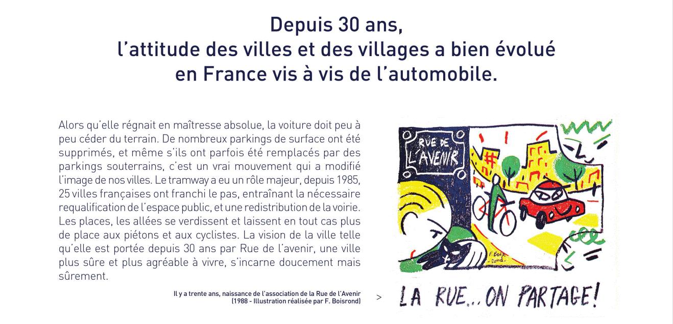 Exposition Rue de l'Avenir